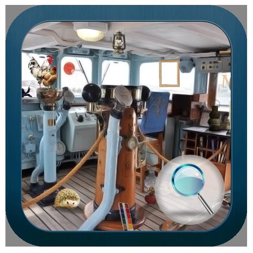 隠されたもの:蒸気船 休閒 LOGO-玩APPs
