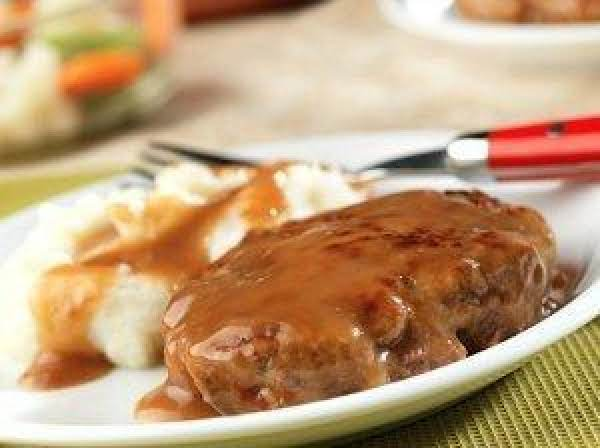 Weeknight Salisbury Steak Recipe