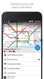 Tube Map London Underground Screenshot 2