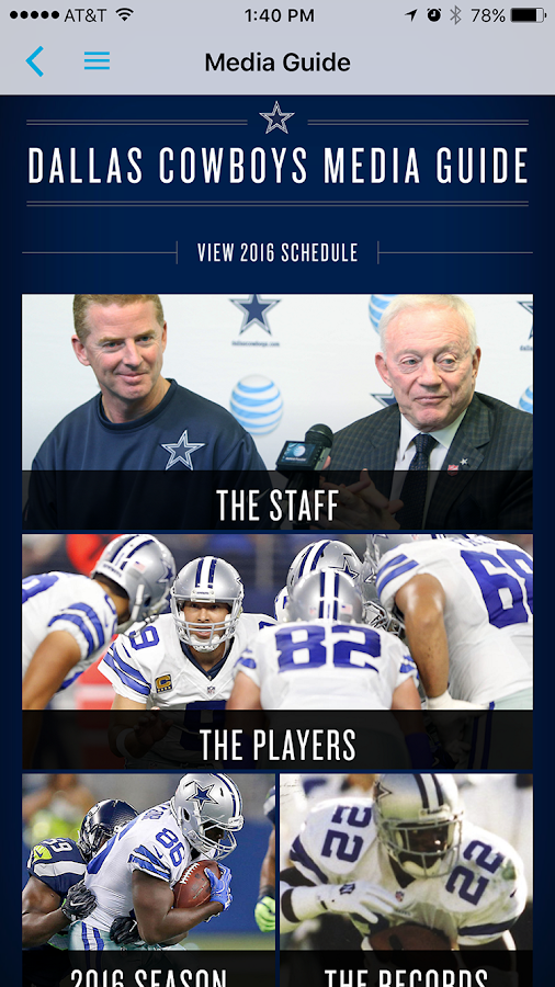 Media Guide- screenshot