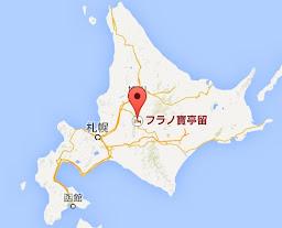 地図:フラノ寶亭留