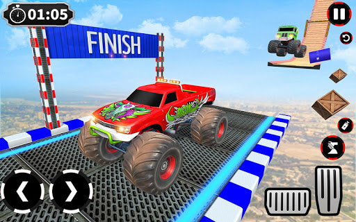 Ramp Monster Truck Stunts:New Racing Games 1.11 screenshots 12