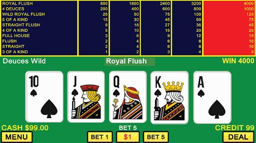 Video Poker Casino Games