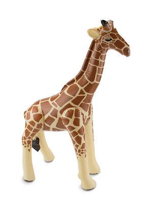 Uppblåsbar giraff