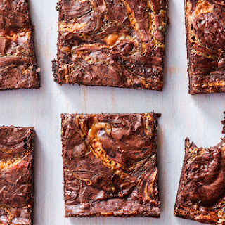 Caramel Brownies.