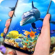 Free Fish Aquarium Live Wallpaper HD Background Themes APK for Windows 8