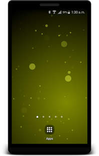 Random Circles Live Wallpaper - Parallax 3D Screenshot