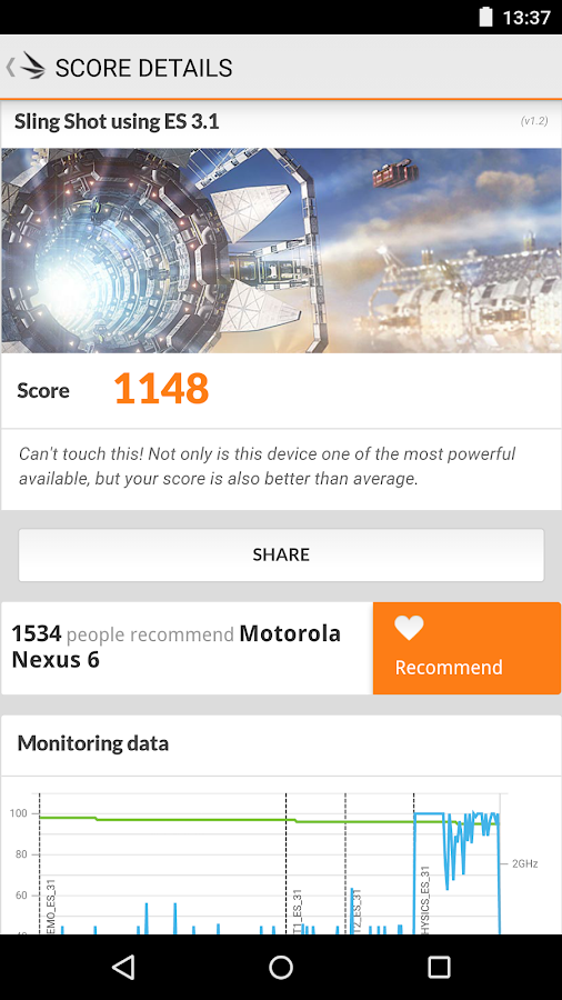 3DMark - The Gamer's Benchmark- screenshot