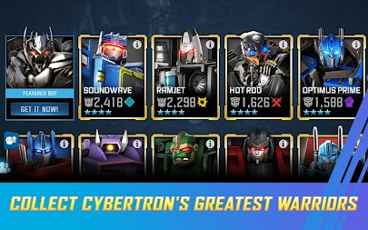TRANSFORMERS: Forged to Fight APK screenshot thumbnail 4