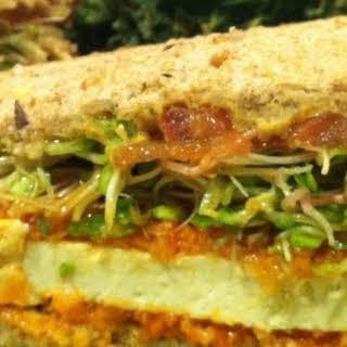Buffalo Tofu Sandwich.