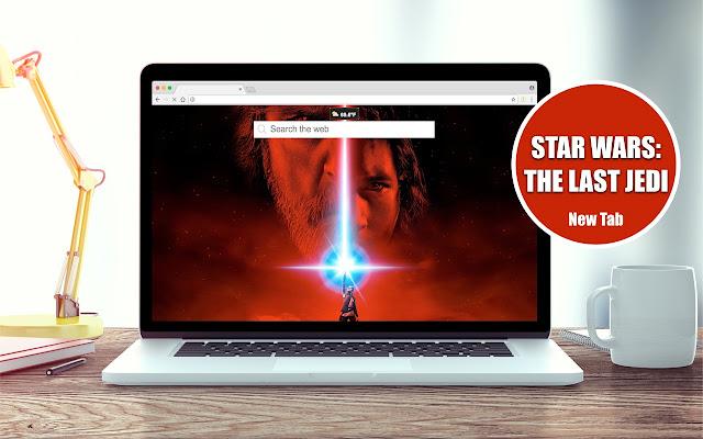 *NEW* HD Star Wars: The Last Jedi New Tab