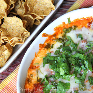 5 Minute Cheesy Baked Salsa Dip