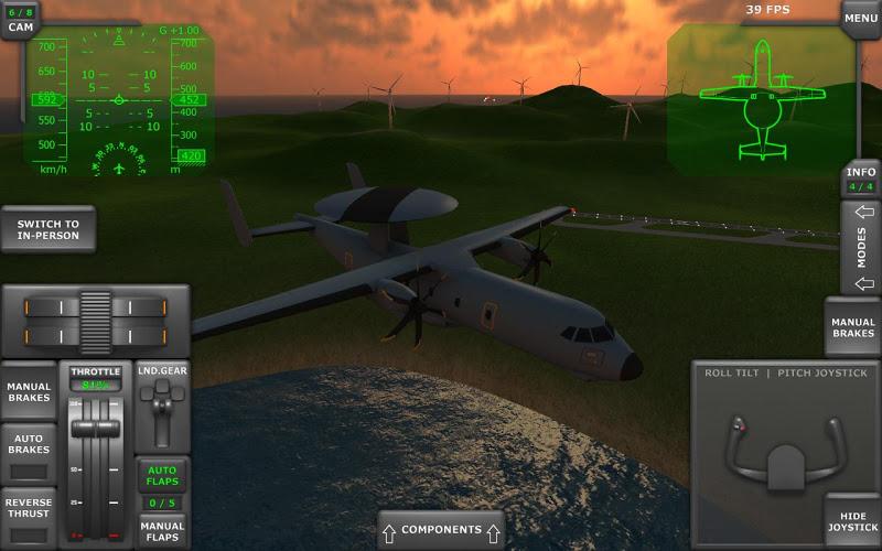 Turboprop Flight Simulator 3D Screenshot 12