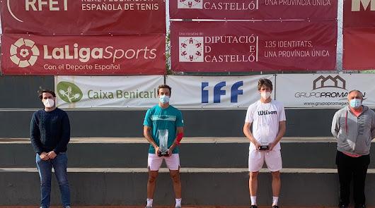Javi Barranco y Benjamín Winter, protagonistas en la final del ITF Benicarló