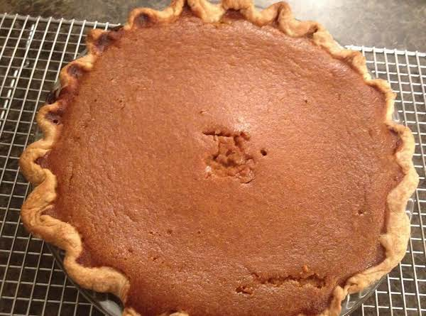 Old Fashioned Pumpkin Pie Recipe