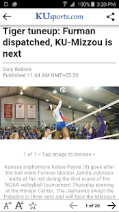 KUsports- screenshot thumbnail