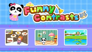 Screenshot of Funny Contrasts -Free for kids