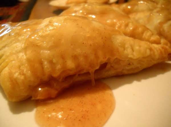 Caramel Apple Turnovers With Mascarpone