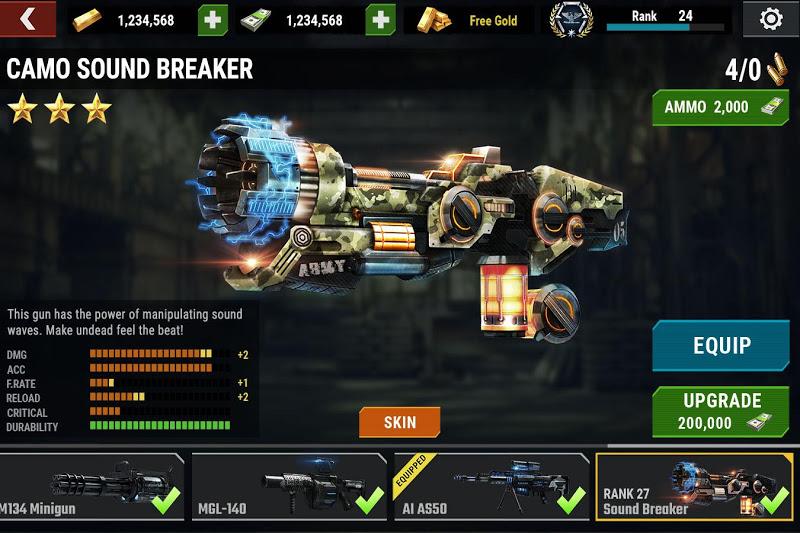 DEAD TARGET: Zombie Offline Screenshot 5