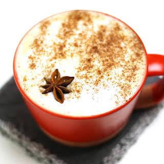 Autumn Spice Cafe Latte.