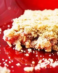 Rhubarb Crunch Bars