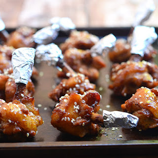 Plum Sauce Chicken Lollipops