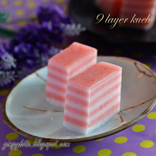 9 Layer Kueh