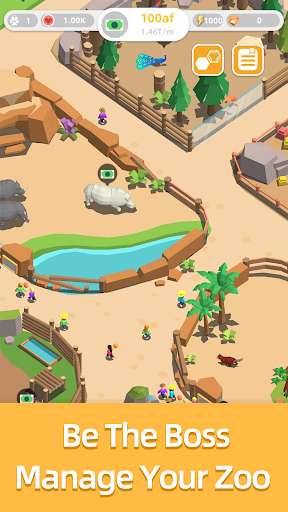 Idle Zoo Tycoon  captures d'écran 2