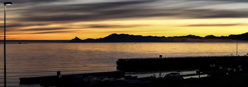 Primo tramonto a Ny Alesund di daniele1357