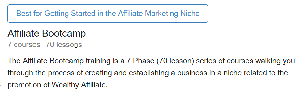 Wealthy Affiliate BootCamp What Is Wealthy Affiliate All About?