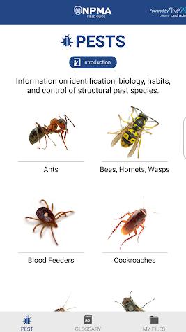 NPMA Field Guide Screenshot