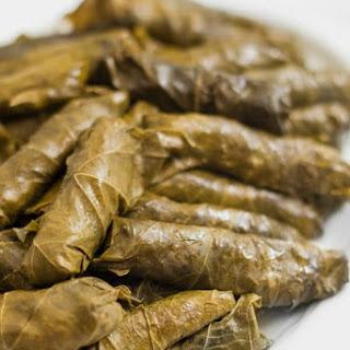 Lebanese Stuffed Grape Leaves Recipe