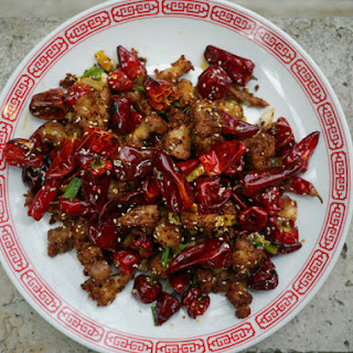 Chongqing Chicken With Chilies (La Zi Ji).