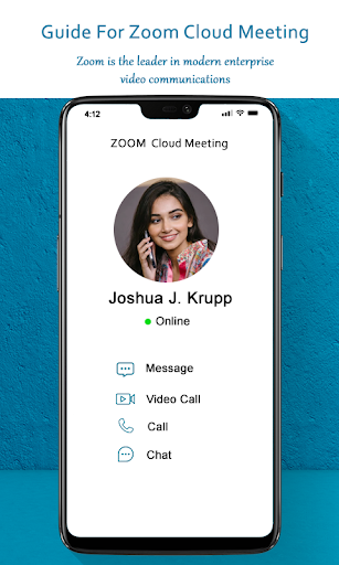 Guide for ZOOM Cloud Meetings Video Conferences screenshot 4