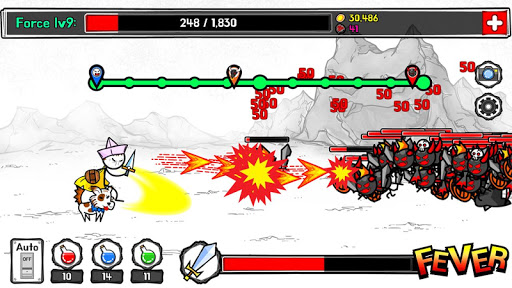 StickMan Hero TAP TAP 1.0 Mod screenshots 4