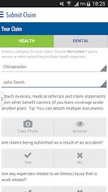 Equitable EZClaim Mobile Screenshot 1