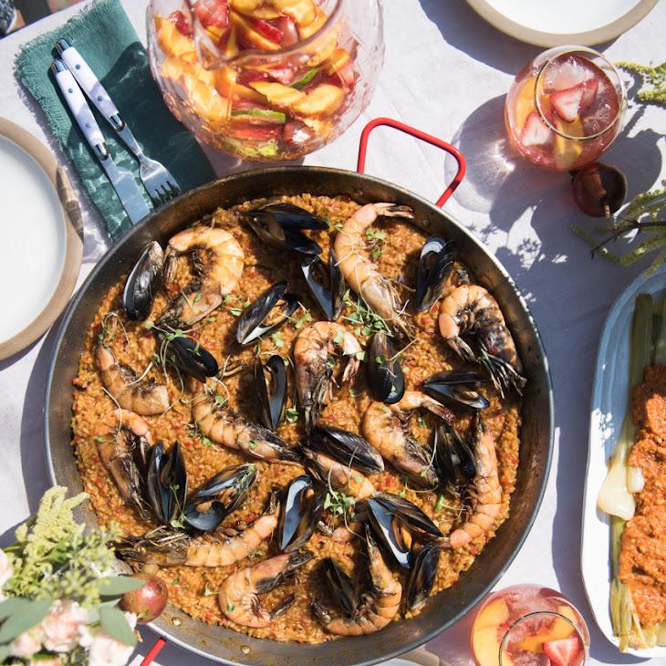 LATE-SUMMER SEAFOOD PAELLA Recipe