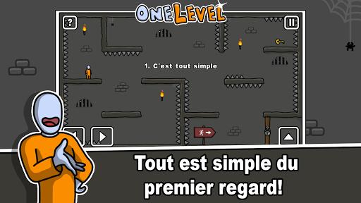 One Level: Stickman Jailbreak  captures d'écran 1
