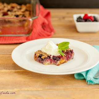 Berry Pie Crumble Squares
