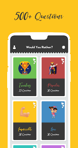 would you rather? - best choice for party game screenshot 1
