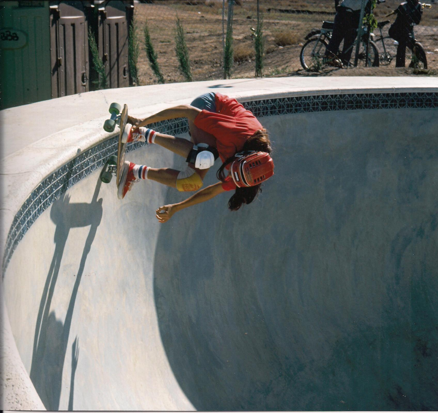 Photo: Going for the lip of the pool at Spring Valley!