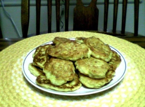 Squash Fritters Recipe
