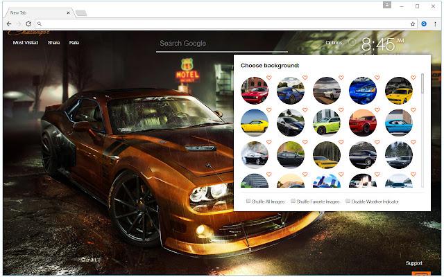 Dodge wallpaper hd cars new tab themes chrome web store - Chrome web store wallpaper ...