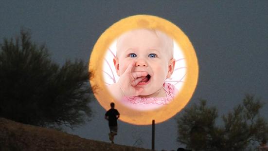 Moon Star Photo Frames montage screenshot