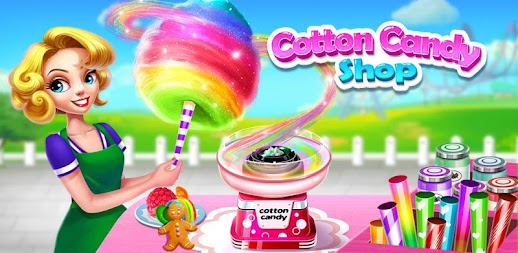Cotton Candy Shop - kids cooking game APK