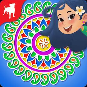 Rangoli Rekha: Color Match 3