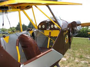 Photo: Intérieur superbe du Taylorcraft J-2 Cub