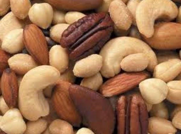 Eating nuts as part of a healthy diet can be good for your heart....