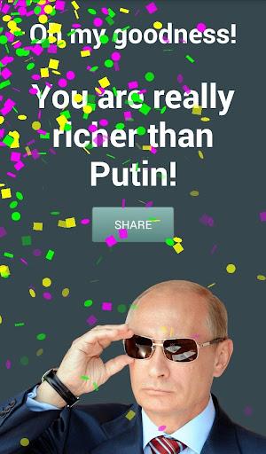 I am Rich - Richer than Putin  screenshots 1