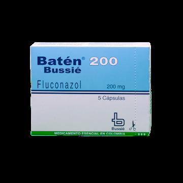 BATEN 200MG CÁPSULAS   CAJA X5CAP. BUSSIÉ FLUCONAZOL